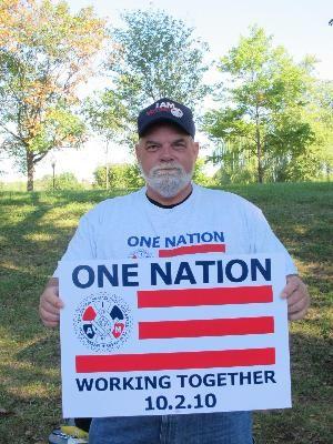 One Nation Sign and T-shirt