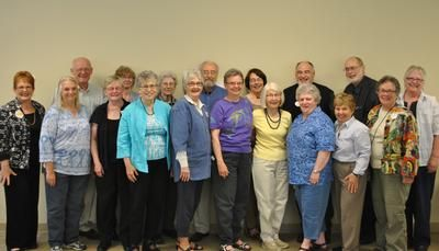 Most of the Retirees Who Attended Annual Meeting on May 15, 2012